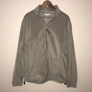 Columbia men's size Large zip up sweatshirt EUC.
